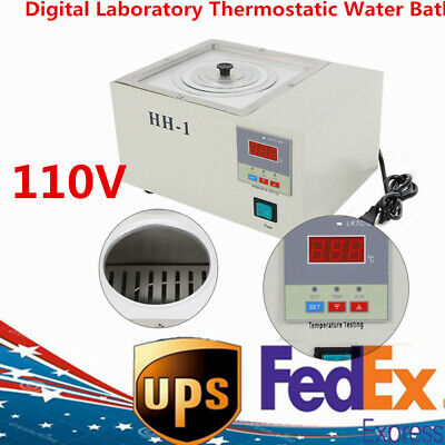Digital Laboratory Electric Thermostatic Constant Temperature Water Bath 110v Us