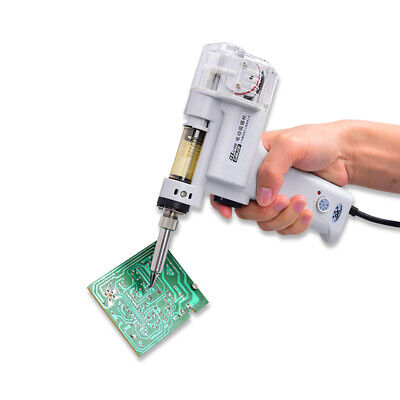 S-998p Electric Vacuum Double-pump Solder Sucker Desoldering Handle 110v