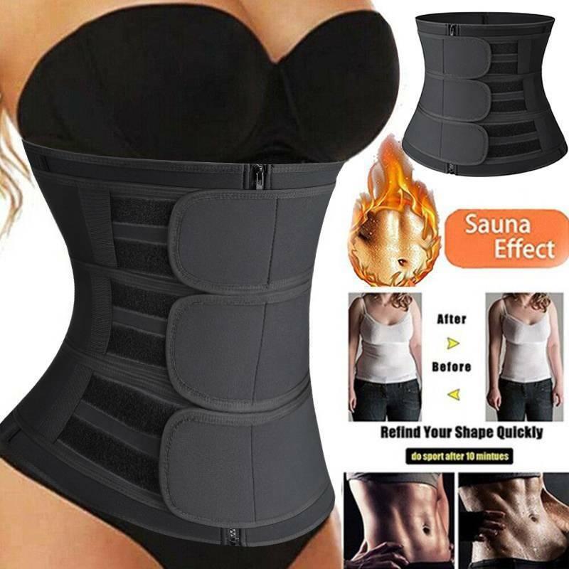 Clothing Shoes /& Accessories Sport Belt Women Waist Trainer Sport Fitness Tummy Corset Body Shaper Belt Shapeware
