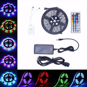 NEW LOT OF 10X RGB STRIP LED LIGHTING WITH REMOTE WATERPROOF