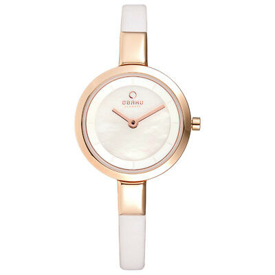 Obaku Denmark Watches - Ladies Siv Series - Siv Pearl Model # V129LXVWRW for sale  Shipping to Canada
