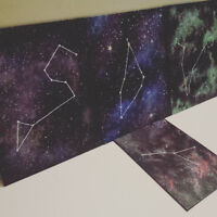 Hand-Painted Galaxies (Zodiac Constellations)