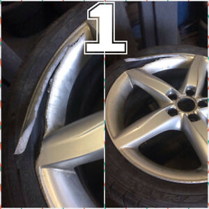 WHEELS/RIMS::REPAIRS::REFINISH::REFURBISH & POLISHING TOO!!