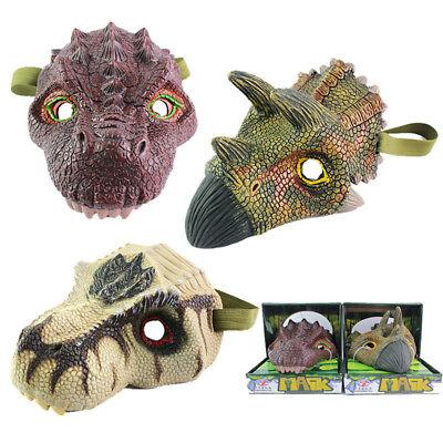 Dinosaur Head Mask Model Halloween Gift Dinosaur Mask Costume Party Fancy Ball