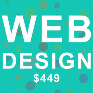 WEB DESIGN FOR ONLY $449!