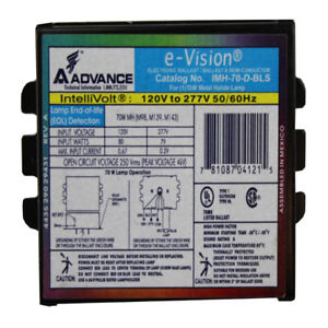 ELECTRONIC BALLAST - eVision   IMH-50-ALF    120V to 277V