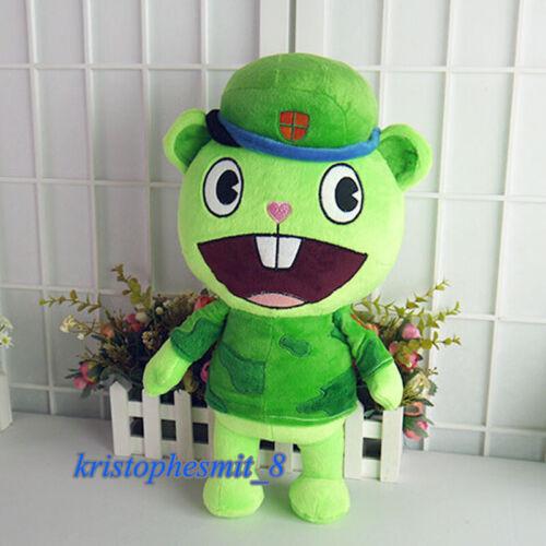 "Happy Tree Friends Flippy Stuffed Doll 40cm/15.7"" HTF Anime Plush Toys Cosplay"
