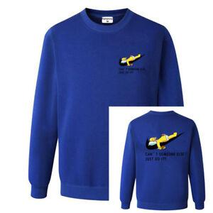 New Nike / Homer Simpsons Sweatshirt M L shoes hoodie sweater