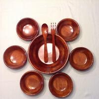 Bowls pour salade en bois