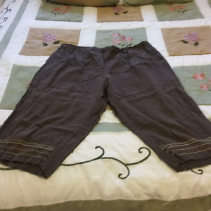 $15 OBO. ....comfy capris set from Penningtons