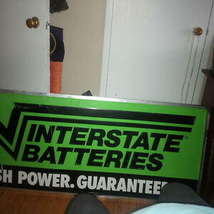 Interstate sign - all metal