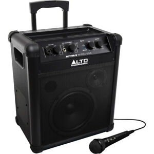 Alto Active-8 Wireless Bluetooth Rechargable Portable Speaker