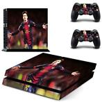 120 Sticker skin wrap ps4 stickers playstation 4 + 2x contro
