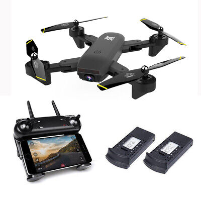 Cooligg Quadcopter Drone With HD Camera Selfie 2MP 720P WiFi FPV Foldable RC