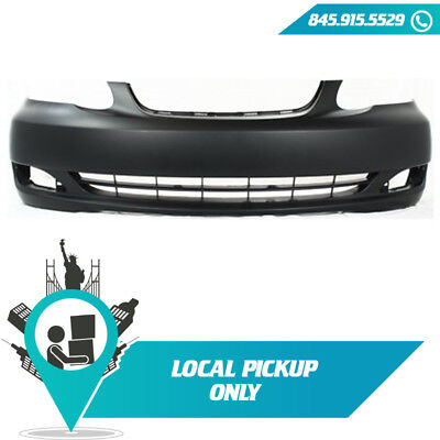 Front Bumper Cover Primed For 2005-2008 Toyota Corolla TO1000297 521190Z938