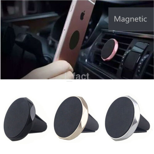 360°Rotating Magnetic Car Mount Holder Cradle Stand Air Vent For Cell Phone US