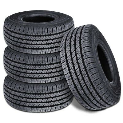 4 New Lionhart Lionclaw HT LT22575R16 115112S All Season Performance Tires