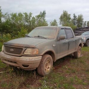 2002 Ford F-150 SuperCrew king ranch Pickup Truck