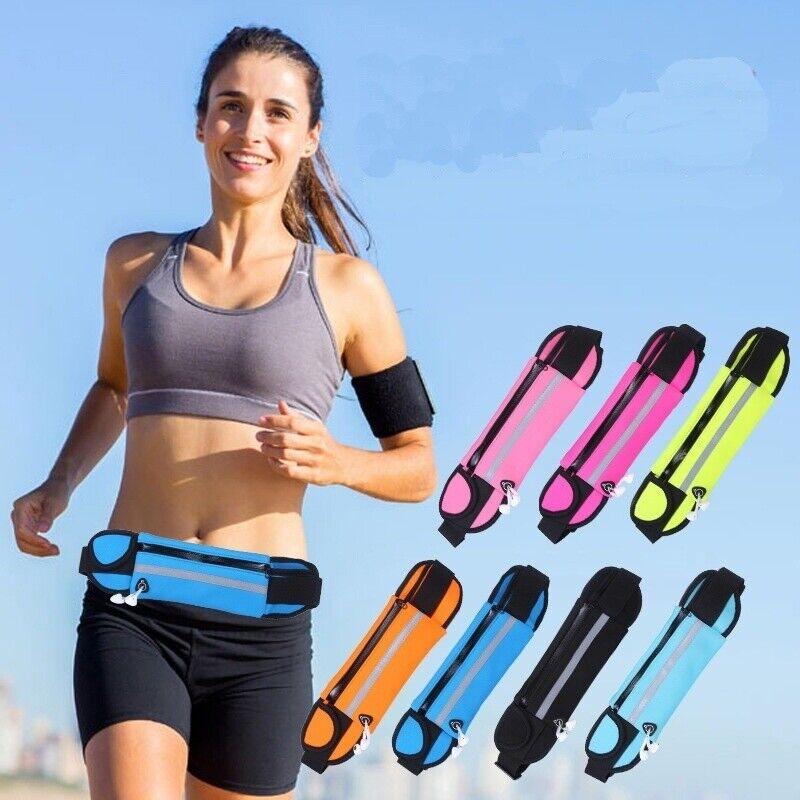 Waist Pack Waterproof Sports Runner Bum Bag Running Jogging Pouch Fanny Pack