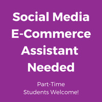 SOCIAL MEDIA-ECOMMERCE-SEO ASSISTANT NEEDED
