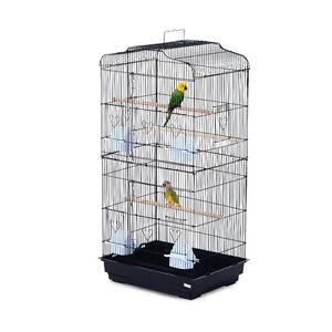 "Bird Cage 36"" Pet Play House Parrot Finch Cockatoo Macaw 2 Doors"