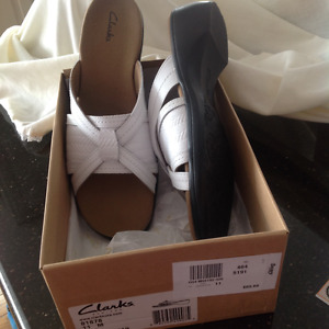 Clarks sandals new in box