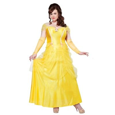 Classic BELLE Beauty Adult Womens Plus Size Costume, 01745, California Costume](Belle Costume Womens)