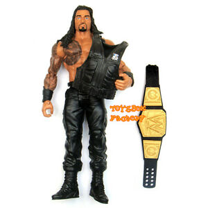 WrestleMania Roman Reigns Shield WWE Belt Wrestling Action Figure Kid Child Toy