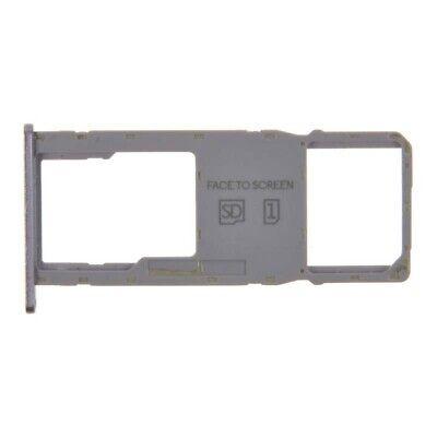 SIM Micro SD Card Tray Single for Motorola Moto G7 Power Violet