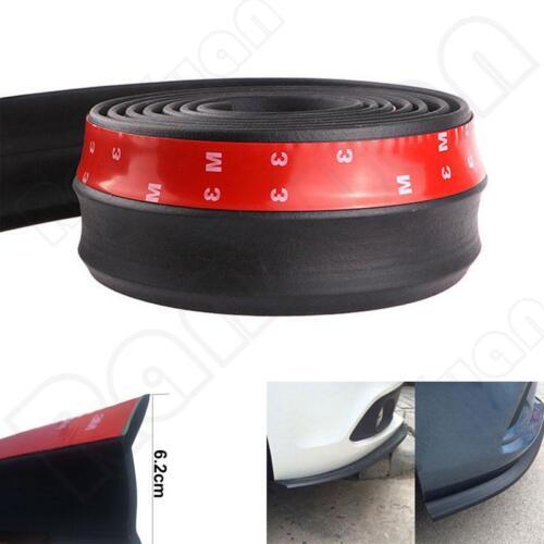 2.5M Universal Front Bumper Lip Splitter Body Spoiler Skirt Rubber Protector NEW