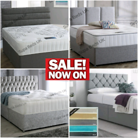 💎BEDS DIRECT💎 NEW LUXURY DIVAN BEDS ON SALE, ALL.SIZES, ANY STYLE