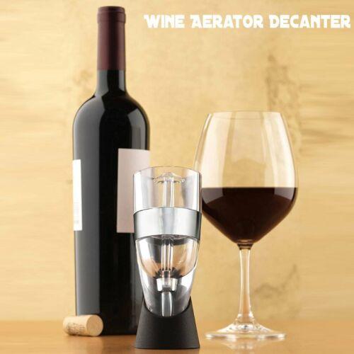 Wine Aerator Decanter Multi Stage Design with Gift Box & Sta