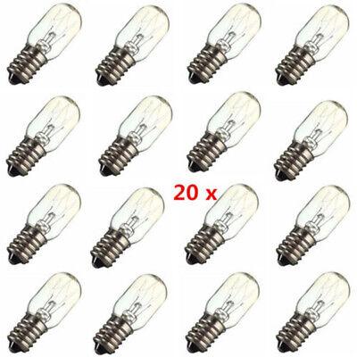 20PCS  E14 LED Light Bulb Refrigerator Freezer Appliance Coo