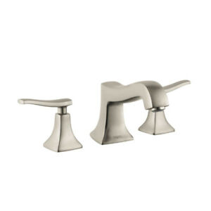 Hansgrohe 31313821 Metris C 3 Hole Roman Tub Set Trim Brushed Ni
