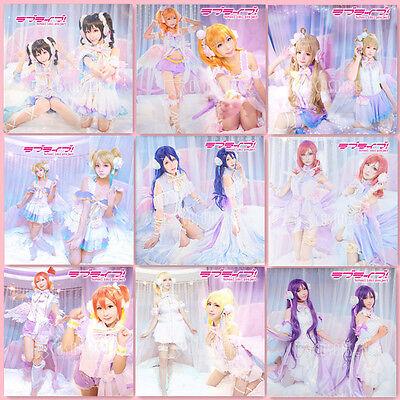 Love Live White Valentine's Day Maki Nico Umi Honoka Halloween Cosplay