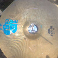 Sabian -B8-14-Hi-Hat-Cymbal with foot Pedal Stand