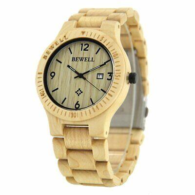 Luxury Wood Watches Quartz Movement Wrist Watch Waterproof Comfort Best (Best Water Resistant Wood)