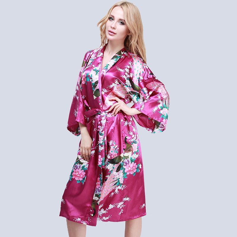 femme sexy peignoir satin kimono lingerie nuisette robe de nuit chambre eur 5 85 picclick fr. Black Bedroom Furniture Sets. Home Design Ideas