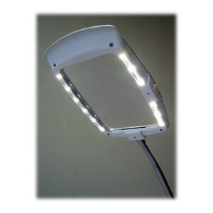 enfren ef 200 led magnifier desk lamp magnifying light. Black Bedroom Furniture Sets. Home Design Ideas