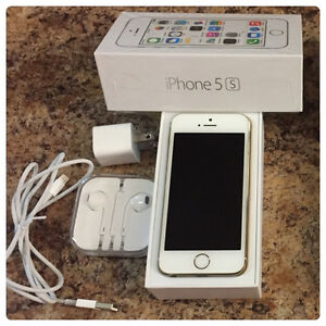 iPhone 5s 16GB Gold Kitchener / Waterloo Kitchener Area image 1