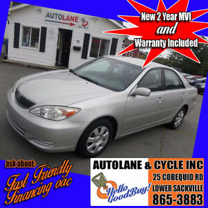 2004 Toyota Camry LE Sedan Runs Great Super Reliable