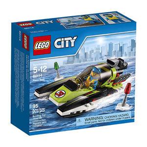 Lego City 60114 Race Boat Neuf