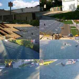 Skilled experienced roofer