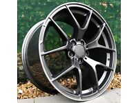 """New 19"""" Staggered Mercedes Style 507 alloy Wheels"""