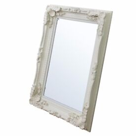 Carved Louis Mirror from Furniture Village