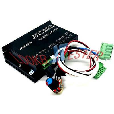 Ws55-220s 50v 600w Cnc Brushless Spindle Bldc Motor Driver Controller