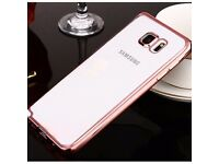 New Samsung Galaxy S7 Soft CLEAR Back Silicone TPU Bumper Case Cover