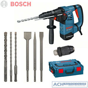 bosch sds plus bohrhammer gbh 3 28 dfr 3 bohrer 3 mei el 061124a004 in l boxx ebay. Black Bedroom Furniture Sets. Home Design Ideas