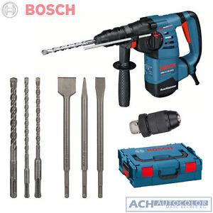 bosch sds plus bohrhammer gbh 3 28 dfr 3 bohrer 3 mei el 061124a004 in l boxx ebay. Black Bedroom Furniture Sets. Home Design Ideas