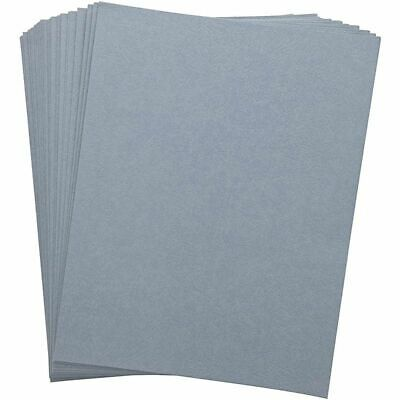 100-pack Binding Cover 230g Quality Leather Texture Paper For Presentation Blue